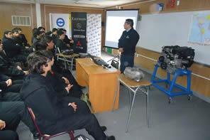 Capacitaciones en Liceo Guillermo Marín de Retiro