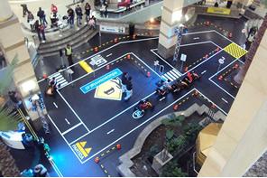 Mall capitalino sirvió de pista para los más pequeños