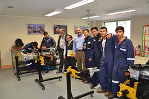 ANAC Y Grupo Educar Realizan Visita Al Liceo Guillermo Marín De Retiro