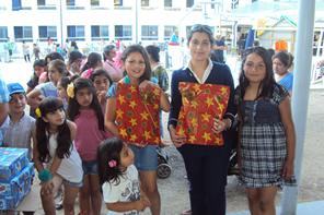 ANAC llevó la alegría navideña a la Escuela Manuel Montt de Retiro