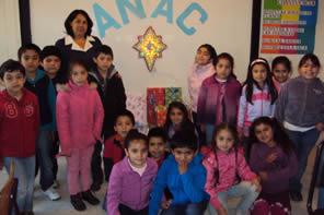 ANAC y Escuela Manuel Montt vivieron de forma especial el espíritu de la navidad