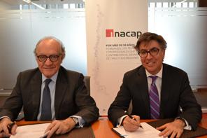 ANAC e INACAP firman acuerdo para fortalecer la educación en mecánica automotriz