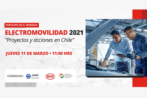 Con participación de ANAC, INACAP realizará webinar sobre electromovilidad 2021, proyectos y acciones en Chile